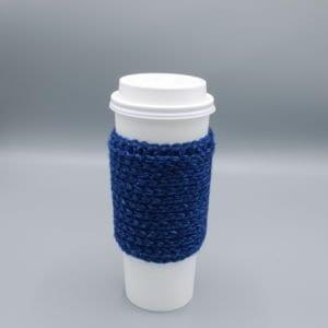 Quick crochet cup cozy