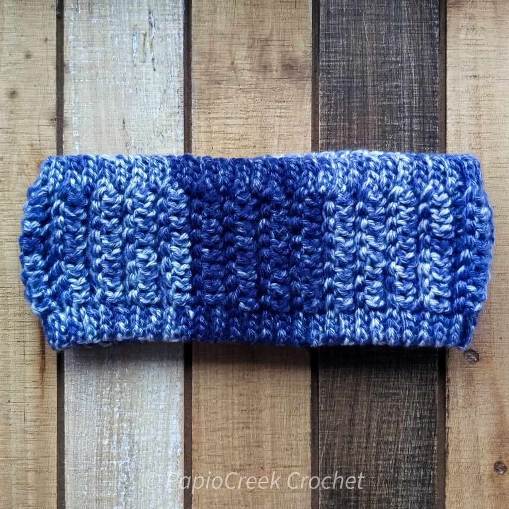 quick and easy ear warmer